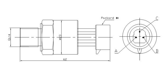 压缩机,空调,汽车专用压力传感器